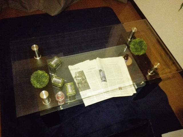 テーブル こたつにする方法