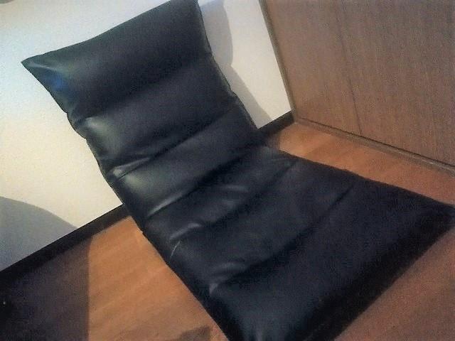座椅子 どっちが背もたれ